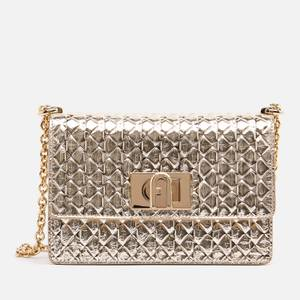 Furla Women's 1927 Mini Cross Body Bag 20 Metallic - Gold