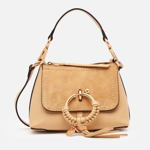 See by Chloé Women's Mini Joan Hobo Cross Body Bag - Seed Brown