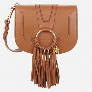 See by Chloé Women's Hana Fringe Bag - Caramello