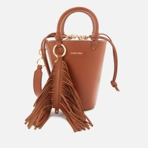 See by Chloé Women's Cecilya Mini Bucket Bag - Seed Brown