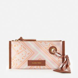 See by Chloé Women's Beth Bandana Cosmetic Pouch - Fallow Pink
