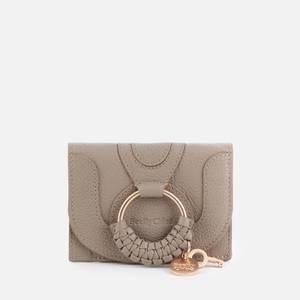 See by Chloé Women's Hana Small Wallet - Motty Grey