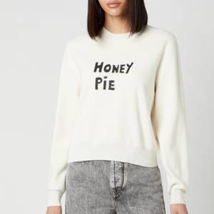 Bella Freud Women's Honey Pie Jumper Merino Wool - Ivory