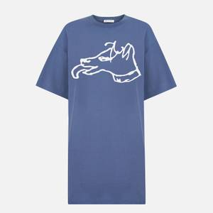 Bella Freud Women's Big Dog T-Shirt Dress - Brighton Blue