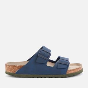 Birkenstock Men's Arizona Double Strap Sandals - Desert Soil Blue
