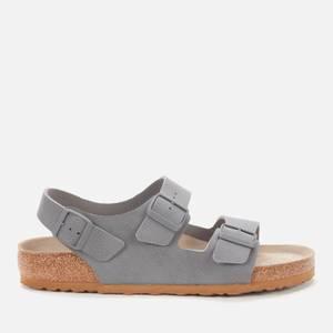 Birkenstock Men's Milano Double Strap Sandals - Desert Soil Grey