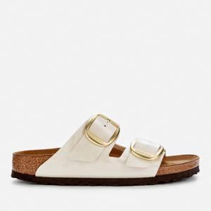 Birkenstock Women's Graceful Arizona Big Buckle Double Strap Sandals - Pearl White