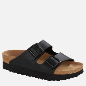 Birkenstock Women's Papillio Vegan Arizona Platform Double Strap Sandals - Black