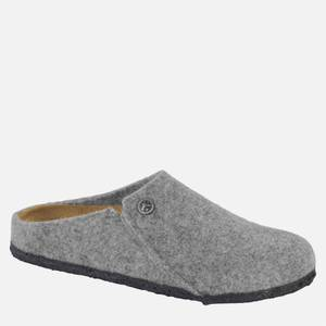 Birkenstock Women's Zermatt Woolfelt Slippers - Light Grey