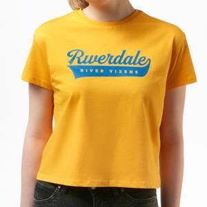 Riverdale Vixens Women's Cropped T-Shirt - Mustard