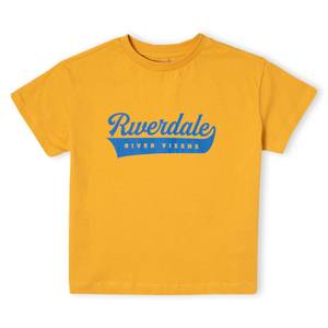 Riverdale Vixens Cropped Top Femme - Moutarde