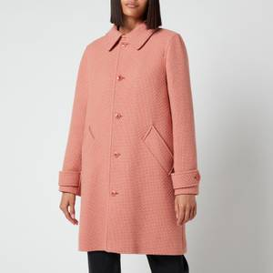 A.P.C. Women's Suzanne Coat - Old Pink