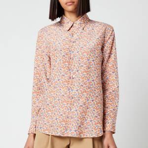 A.P.C. Women's Gina Shirt - Orange