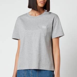 A.P.C. Women's Emma T-Shirt - Grey