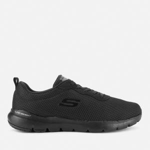 Skechers Women's Flex Appeal 3.0 First Insight Running Style Trainers - Black