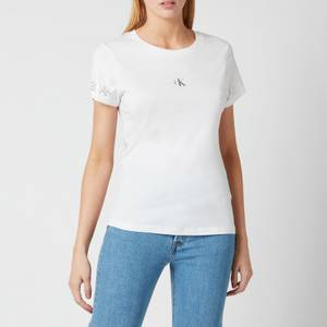 Calvin Klein Jeans Women's Outline Logo T-Shirt - Bright White
