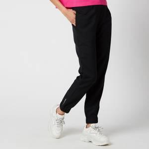Calvin Klein Jeans Women's Wool Tapered Jogging Bottoms - Ck Black