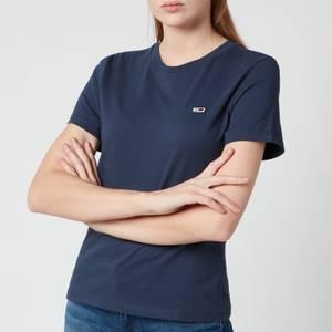 Tommy Jeans Women's Tjw Tommy Classics T-Shirt - Twilight Navy