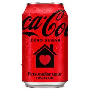 Coca-Cola Zero Sugar 330ml - Personalised Can