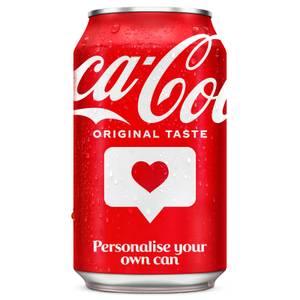 Coca-Cola Original Taste 330ml - Personalised Can