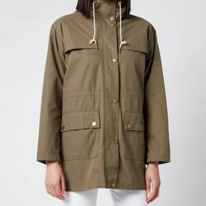 Barbour X Alexa Chung Women's Blanche Casual Jacket - Khaki/Dress Gordon