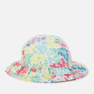 Joules Baby Buzzy Sun Hat - Floral White - 0-6 Months