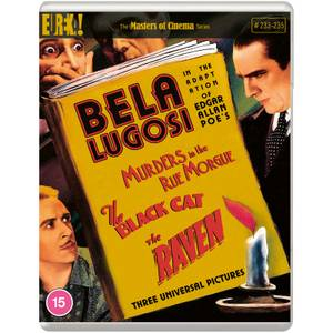Three Edgar Allan Poe Adaptations Starring Bela Lugosi (Masters of Cinema)