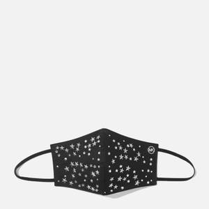 MICHAEL Michael Kors Women's Scatter Star Mask - Black/Silver