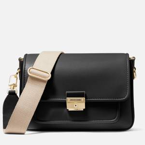 MICHAEL Michael Kors Women's Bradshaw Medium Messenger Bag - Black