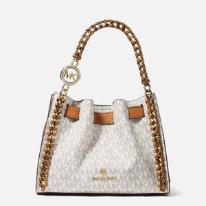MICHAEL Michael Kors Women's Mina Small Chain Cross Body Bag - Vanilla/Acorn