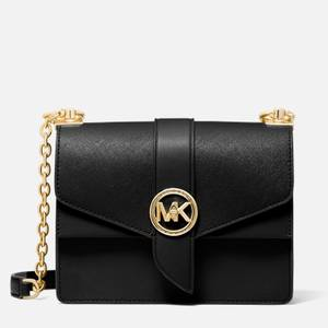 MICHAEL Michael Kors Women's Greenwich Small Cross Body Bag - Black