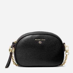 MICHAEL Michael Kors Women's Jet Set Charm Small Oval Camera Bag - Black