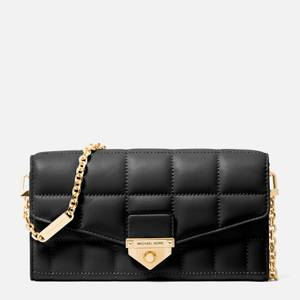MICHAEL Michael Kors Women's Soho Large Wallet Chain Cross Body Bag - Black