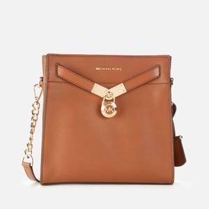MICHAEL Michael Kors Women's Nouveau Hamilton Messenger Bag - Luggage