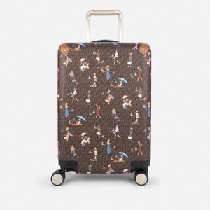 MICHAEL Michael Kors Women's Jet Set Sailor Girls Travel Small Trolley - Brown
