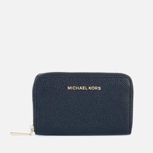 MICHAEL Michael Kors Women's Jet Set Small Card Case - Black