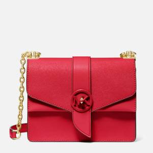 MICHAEL Michael Kors Women's Greenwich Small Cross Body Bag - Bright Red