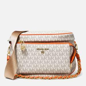 MICHAEL Michael Kors Women's Slater Medium Sling Pack Bag - Clementine