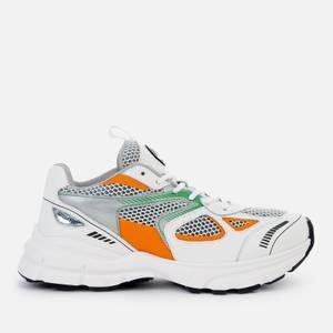 Axel Arigato Women's Marathon Running Style Trainers - Green/Orange