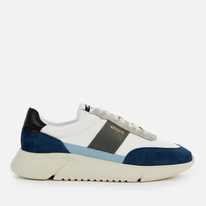 Axel Arigato Men's Genesis Vintage Running Style Trainers - White/Blue