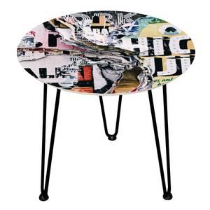 Decorsome Graffiti Wooden Side Table