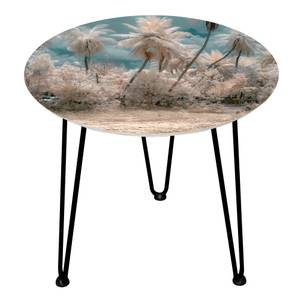 Decorsome Botanical Wooden Side Table
