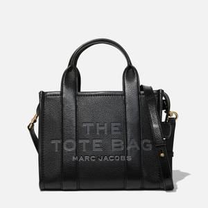 Marc Jacobs Women's Mini Traveler Leather Tote Bag - Black