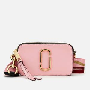 Marc Jacobs Women's Snapshot Cross Body Bag - New Baby Pink/Red