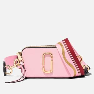 Marc Jacobs Women's Snapshot Cross Body Bag - New Baby Pink/Red