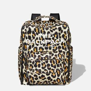 Marc Jacobs Women's The Backpack Leopard - Natural Multi