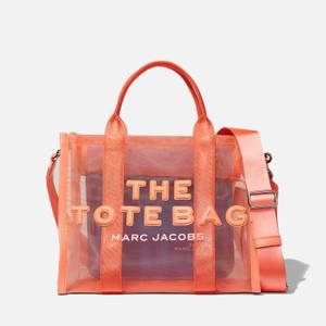 Marc Jacobs Women's Small Mesh Traveler Tote Bag - Fusion Coral