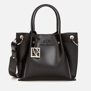 Armani Exchange Women's Small Shopper Bag - Black
