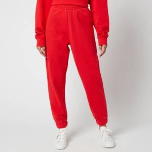 ROTATE Birger Christensen Women's Mimi Sweatpants - Flame Scarlett
