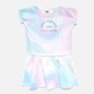 KARL LAGERFELD Girls' Marble Dress